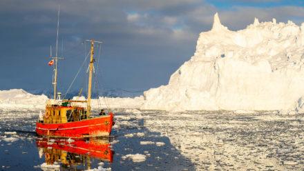 Severní Grónsko křížem krážem