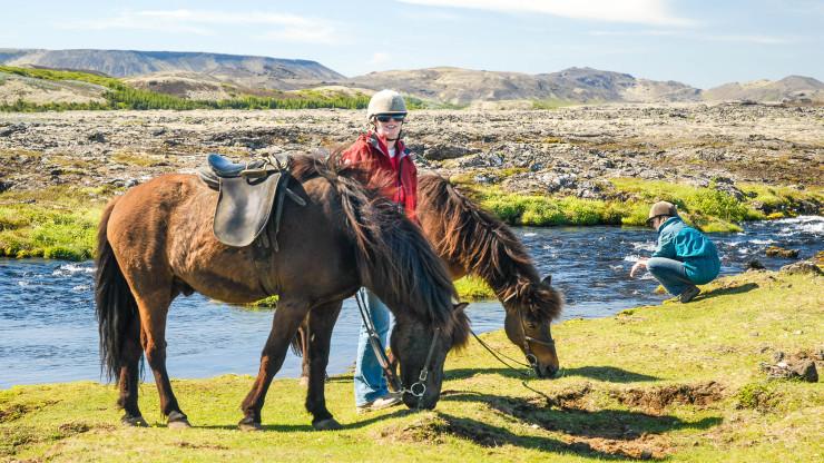 Island z koňského hřbetu